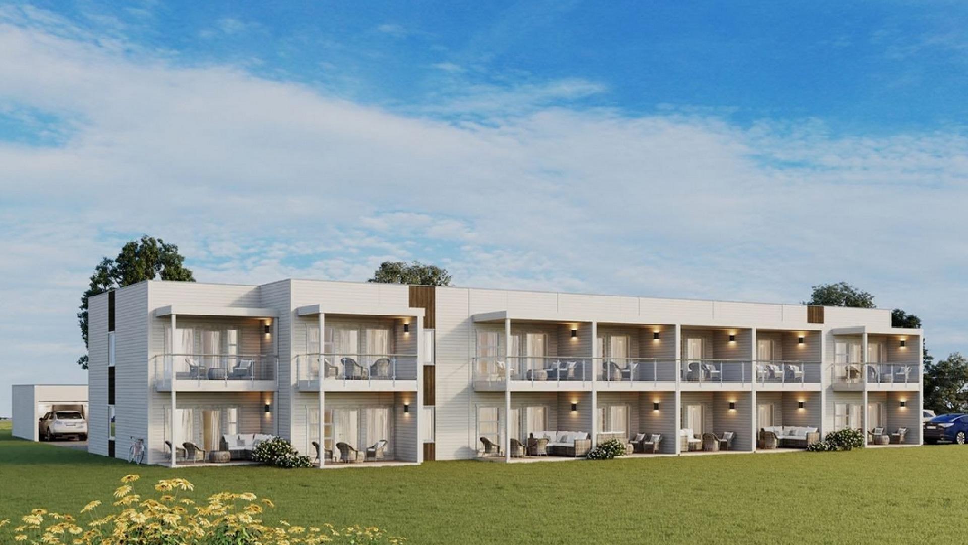 Bilde av boligbyggingsprosjektet Gruva