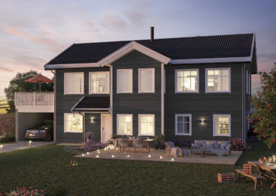 Vangseterlia – Husmodellen Herøyfjord